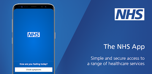 The NHS app. Simple and secure access to a range of healthcare services